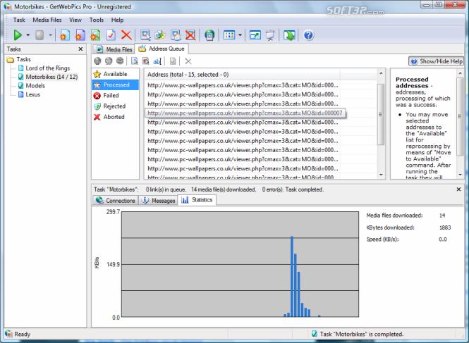 GetWebPics Pro Screenshot 2