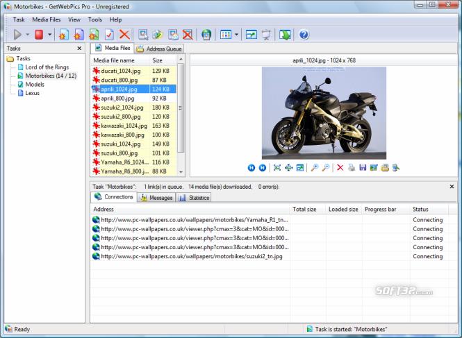 GetWebPics Pro Screenshot 3