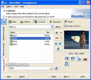 AlbumWeb Screenshot 2