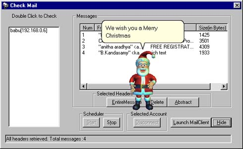MailAssistant (Christmas Edition) Screenshot