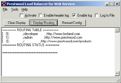 Prestwood Load Balancer Screenshot 1
