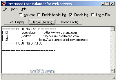 Prestwood Load Balancer Screenshot 2
