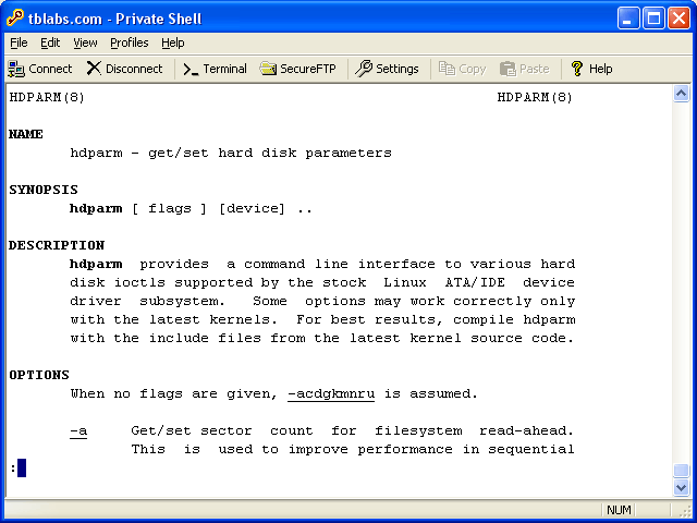 Private Shell SSH Client Screenshot