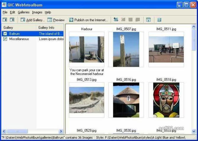 QIC Webfotoalbum Screenshot 3