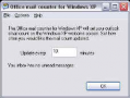 Outlook mail counter for Windows XP 1