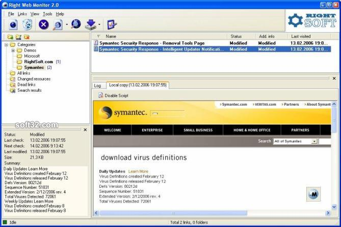 Right Web Monitor Screenshot 3