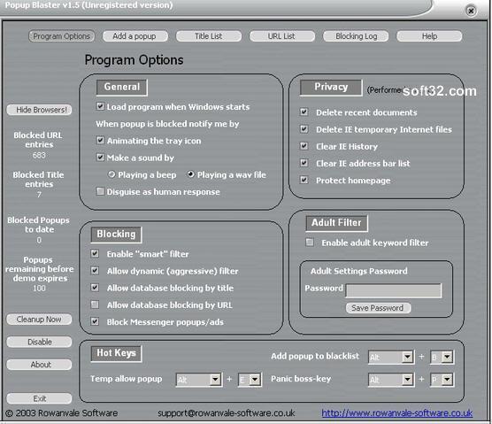 Popup Blaster Screenshot 2