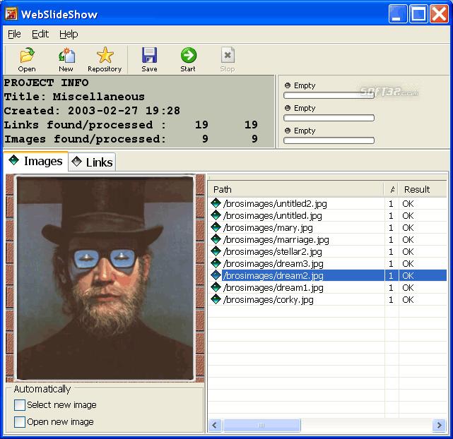 1ClickWebSlideShow Screenshot 2