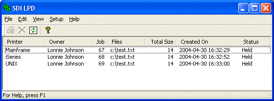 SDI LPD Screenshot 1