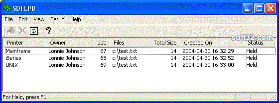 SDI LPD Screenshot 3