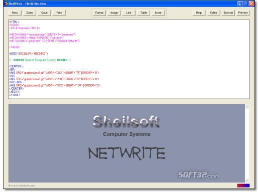 NetWrite Screenshot 2