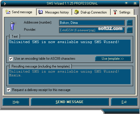 SMS Wizard LITE Screenshot 3