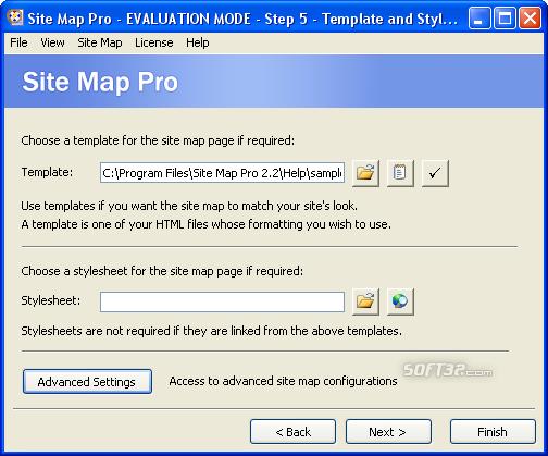Site Map Pro Screenshot 8
