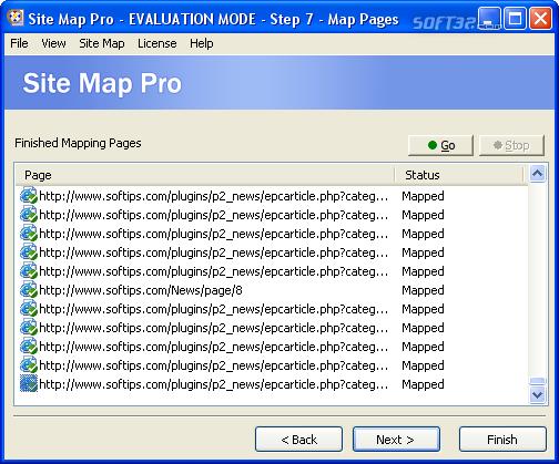 Site Map Pro Screenshot 2