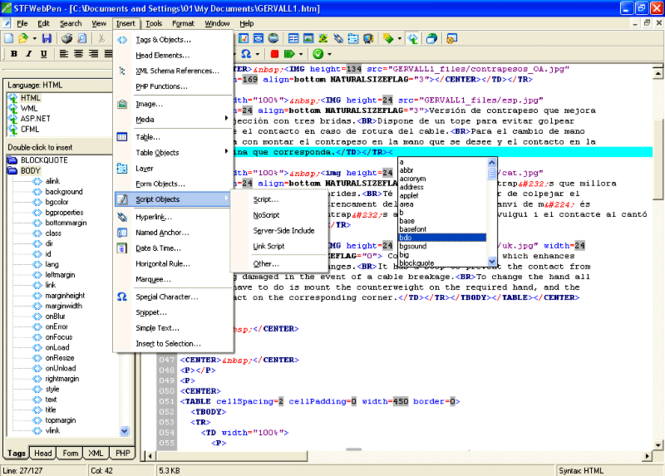 STFWebPen Screenshot 1