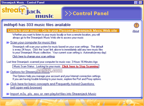 Streamjack Music Screenshot 2
