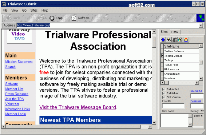 Trialware Submit Screenshot 3