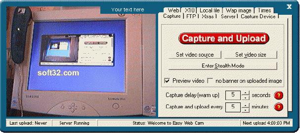 Easy Web Cam Screenshot 3