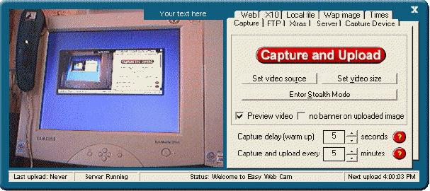 Easy Web Cam Screenshot 4