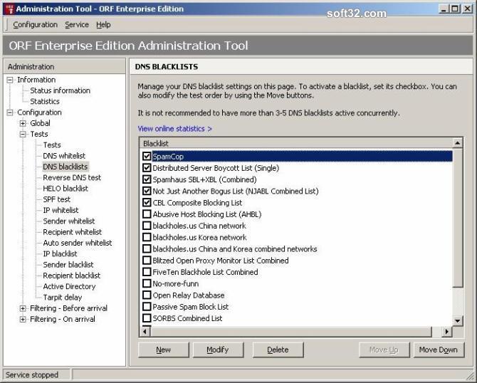 ORF Enterprise Edition Screenshot 2