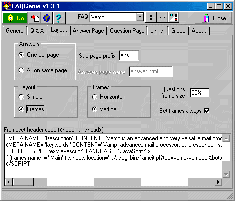 FAQGenie Screenshot
