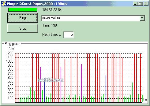 Konst Pinger Screenshot 2