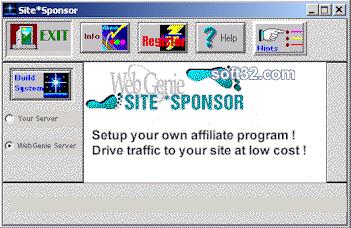 Site Sponsor Screenshot 2