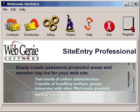 Site Entry Professional Screenshot 3
