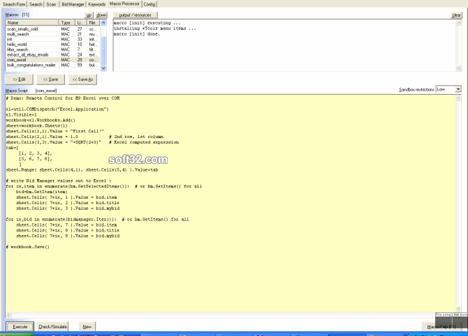 HarvEX Auction Sniper & Macro Bot (eBay) Screenshot 5