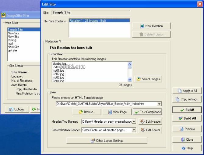 ImageSite Pro Screenshot 2