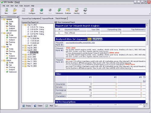 SEO Studio Screenshot 1