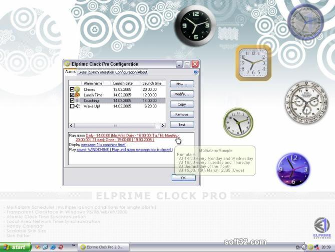 Elprime Clock Pro Screenshot 2