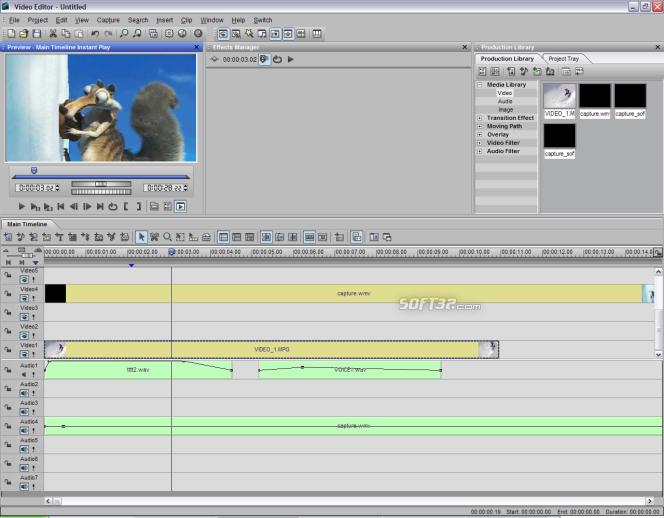 Ulead MediaStudio Pro Screenshot 4
