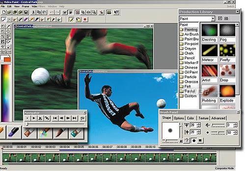 Ulead MediaStudio Pro Screenshot