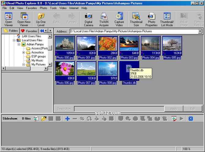 Ulead Photo Explorer Screenshot 2