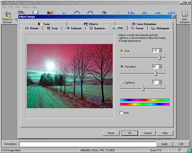 Ulead Photo Explorer Screenshot 4