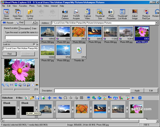 Ulead Photo Explorer Screenshot 5