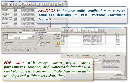 Acad2PDF Screenshot