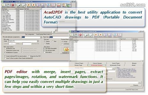 Acad2PDF Screenshot 2