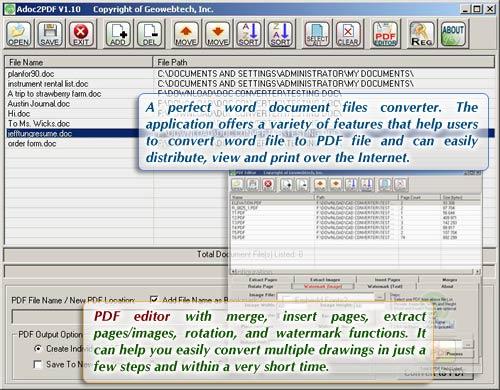 Adoc2PDF Screenshot 1