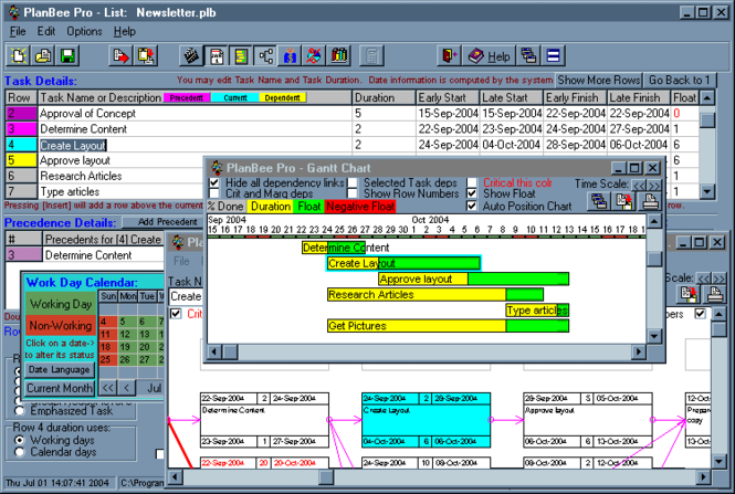 PlanBee project management planning tool Screenshot 1