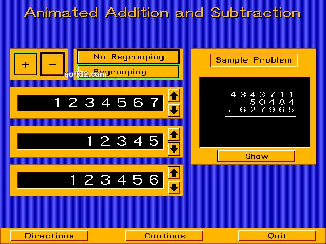 Animated Arithmetic Screenshot 3