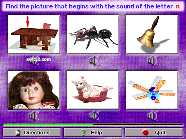 Animated Beginning Phonics Screenshot 3