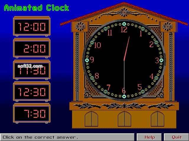Animated Clock Screenshot 3