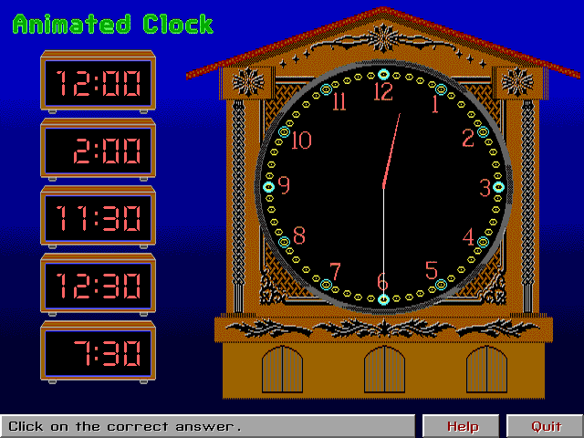 Animated Clock Screenshot 1