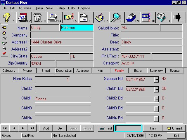 Contact Plus Screenshot 1