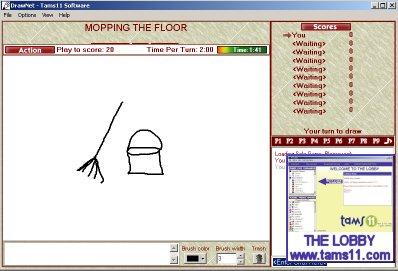 Tams11 DrawNet Screenshot
