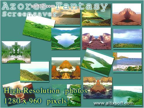 Azores Fantasy Screensaver Screenshot 2