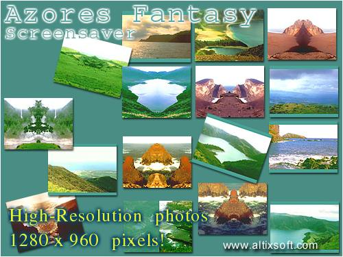 Azores Fantasy Screensaver Screenshot