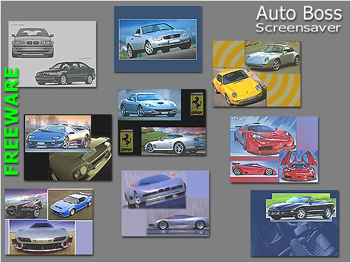 AutoBoss Screensaver FREE Screenshot 1